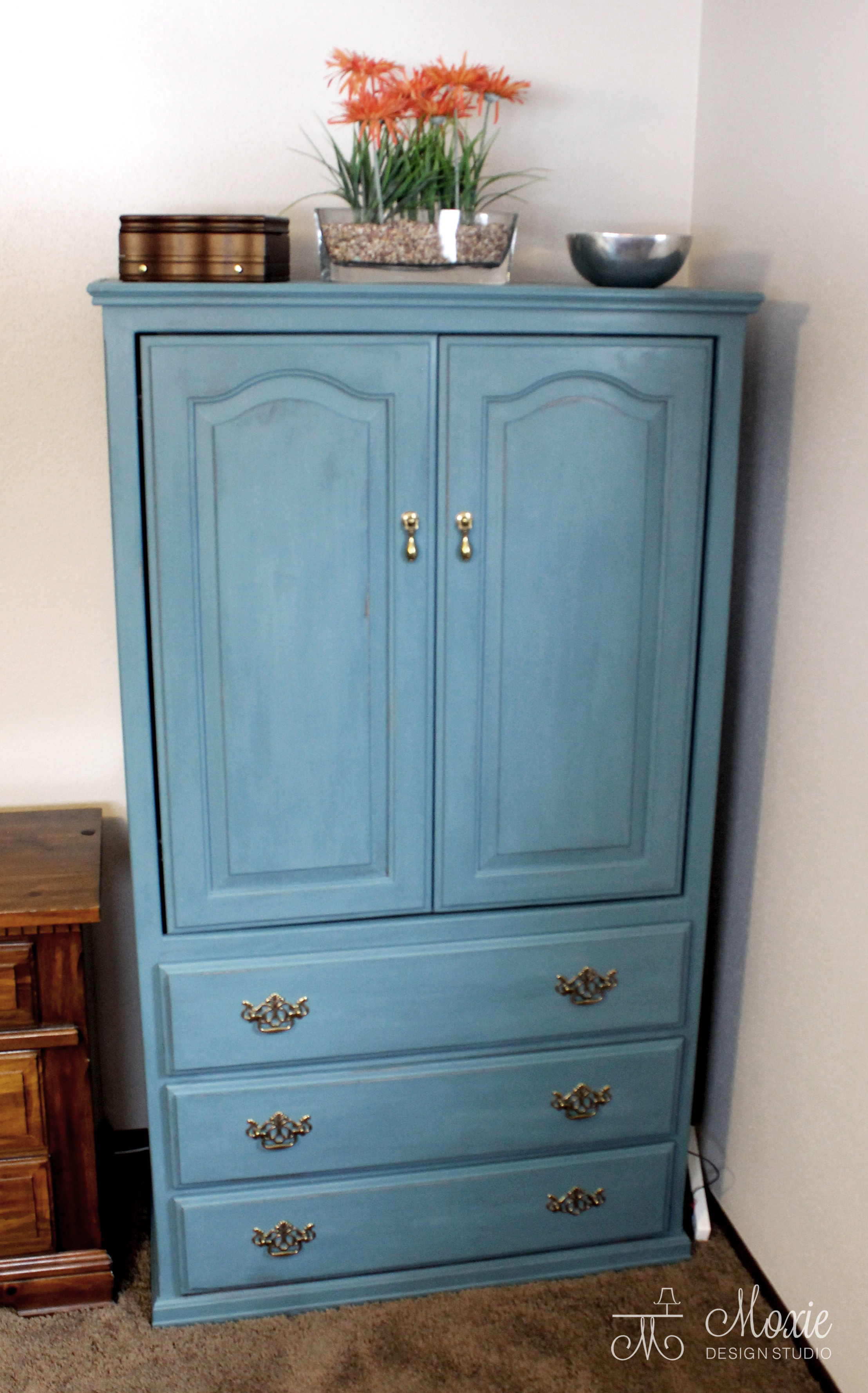 Compact Armoire Sewing Closet