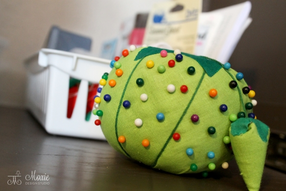 Sewing Cabinet_pin cushion