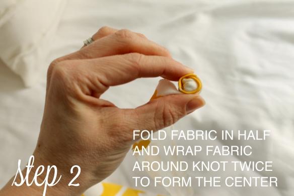 Fabric Flower_step2