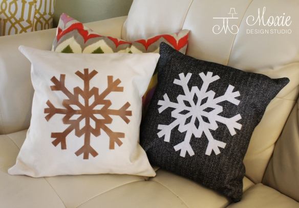 Snowflake Pillows